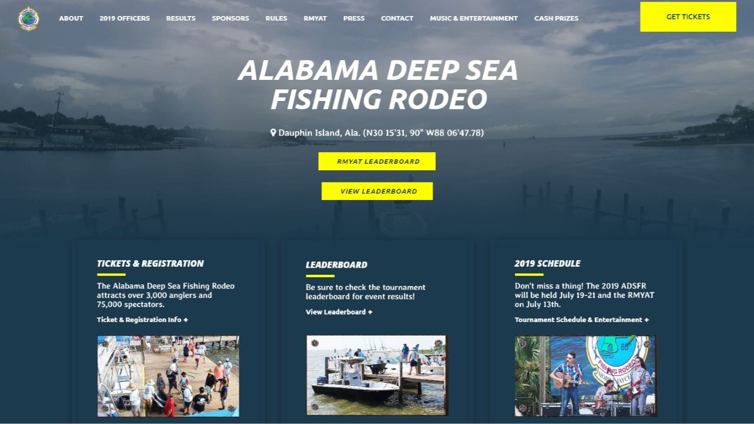 Alabama Deep Sea Fishing Rodeo