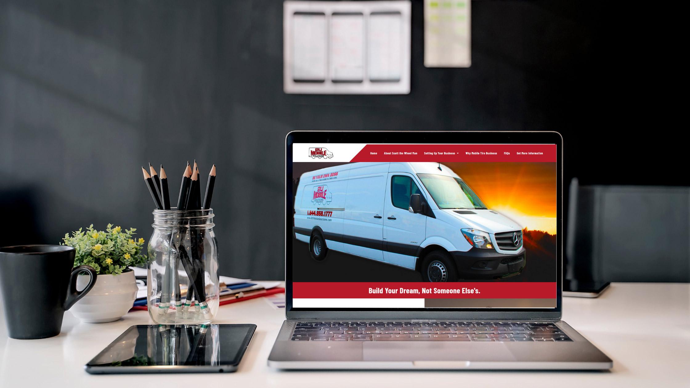 Website Design and Development: 2U Mobile Solutions